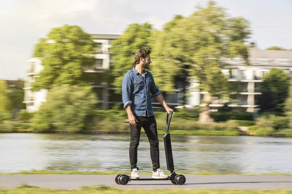 Audi Takes On The Urban Electric Scooter Trend With The E-tron Scooter