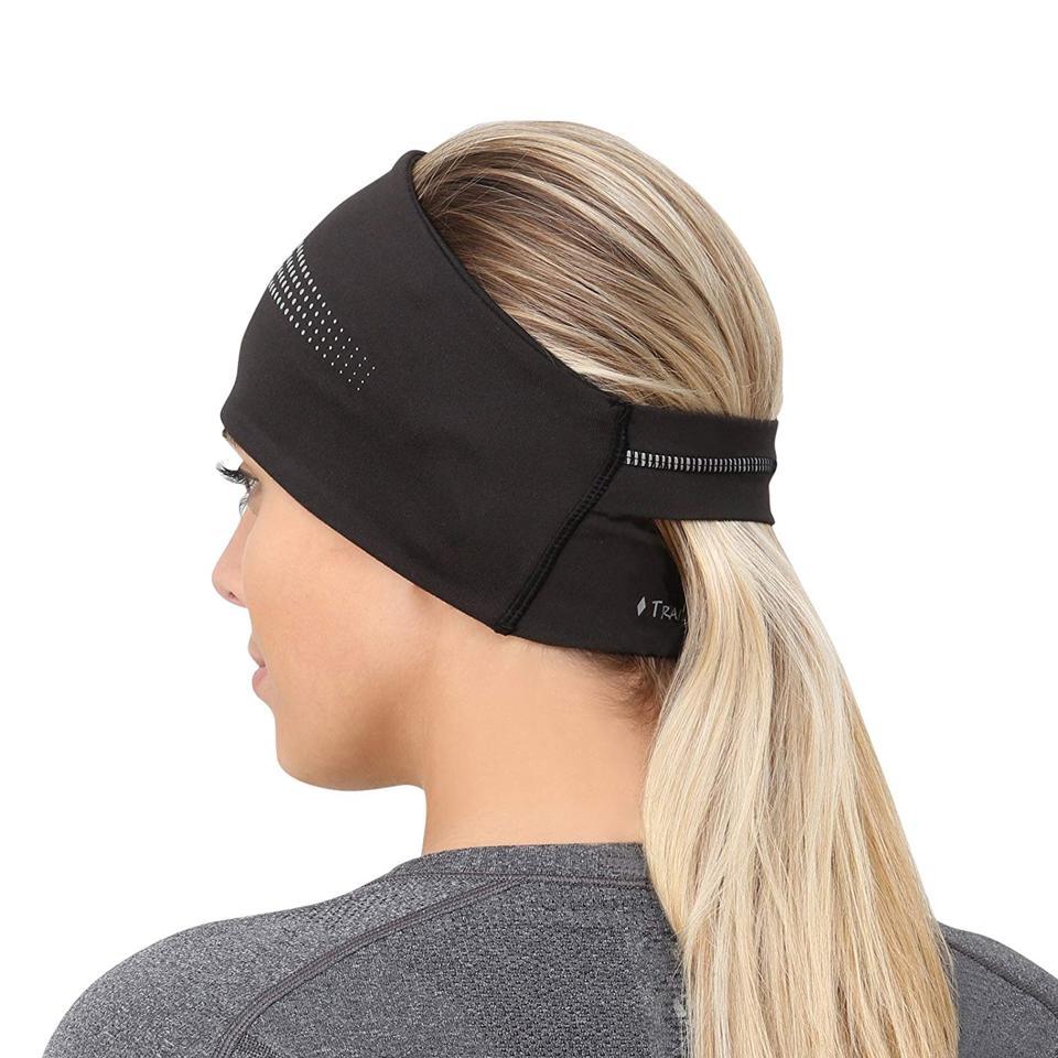 TrailHeads Reflective Ponytail Headband