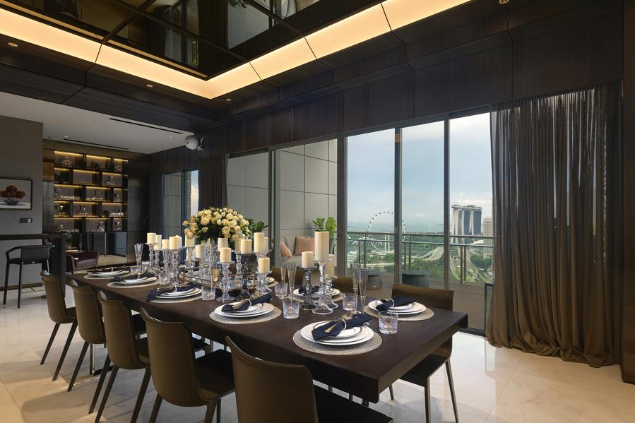 Extreme Perks At This $34M 'Super' Penthouse Joins Growing Singapore Trend