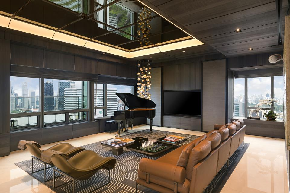 Concourse Penthouse Living Room