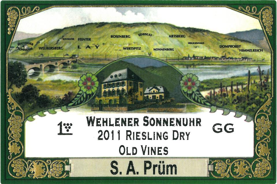 Dry Riesling, S. A. Prum