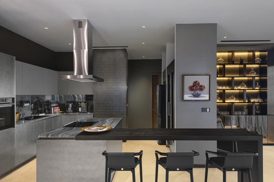 Concourse Penthouse Kitchen