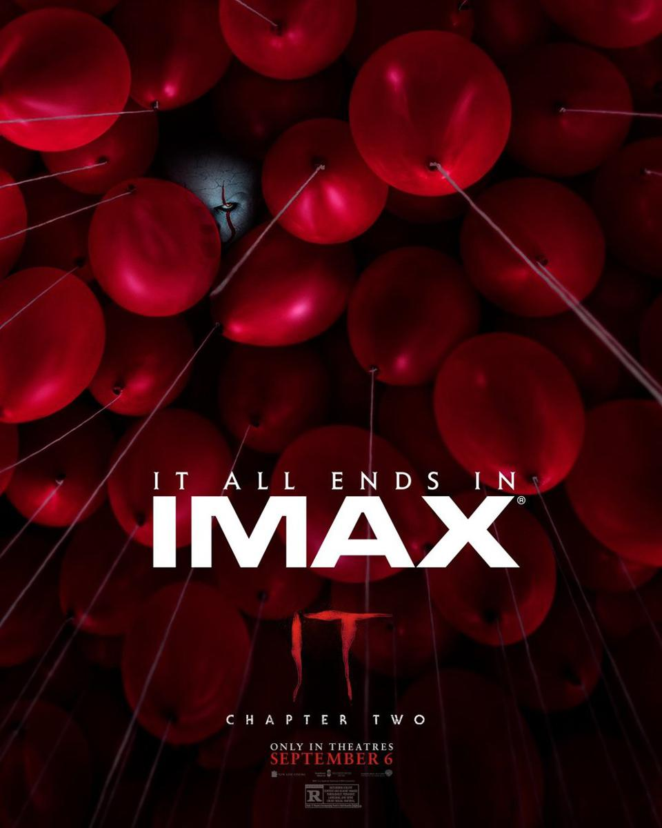'It Chapter Two' IMAX poster