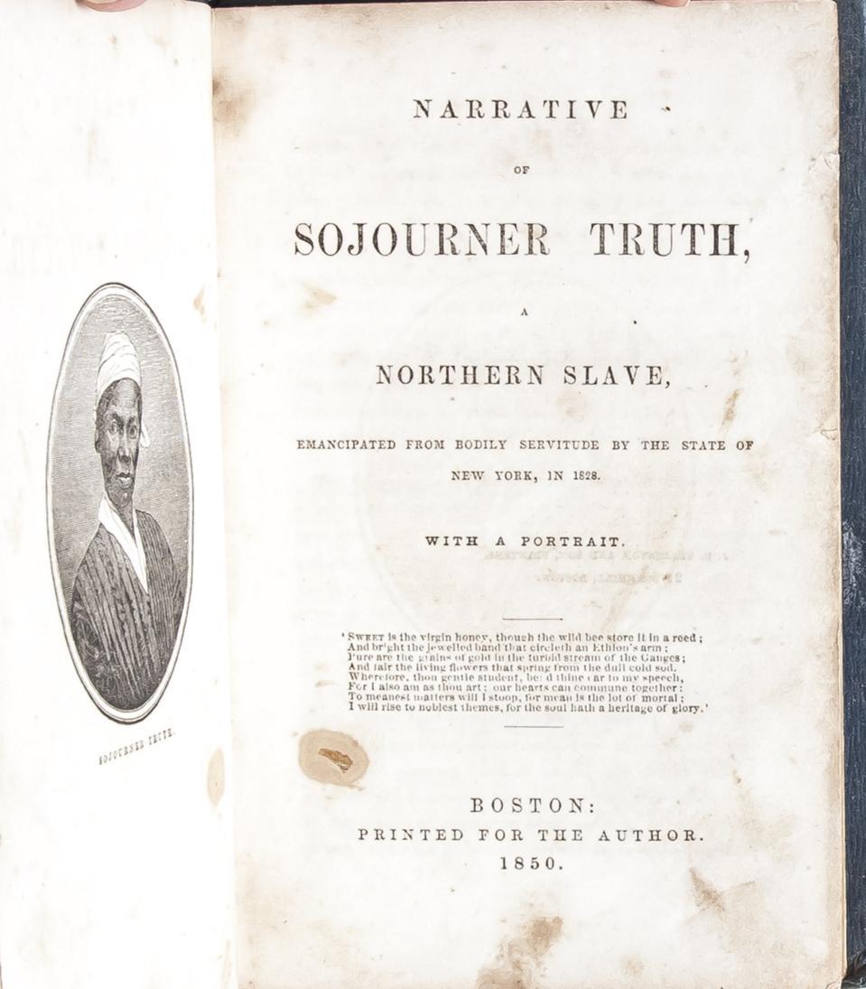 Sojourner Truth's Slave Narrative