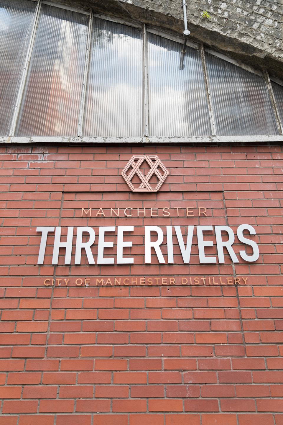 The outside of the City of Manchester Distillery