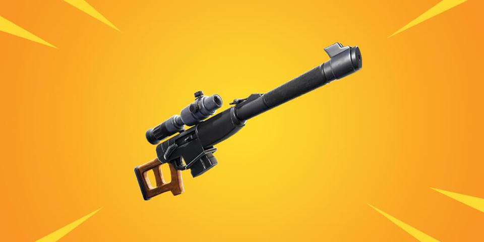 A Powerful New Sniper Rifle Is Coming Soon To 'Fortnite: Battle Royale'