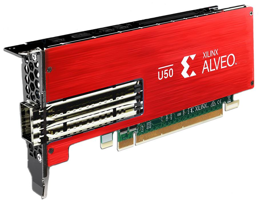 Xilinx Alveo U50