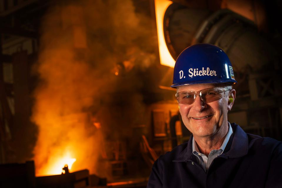 CEO David Stickler believes his Big River mill can outproduce plants in places like China