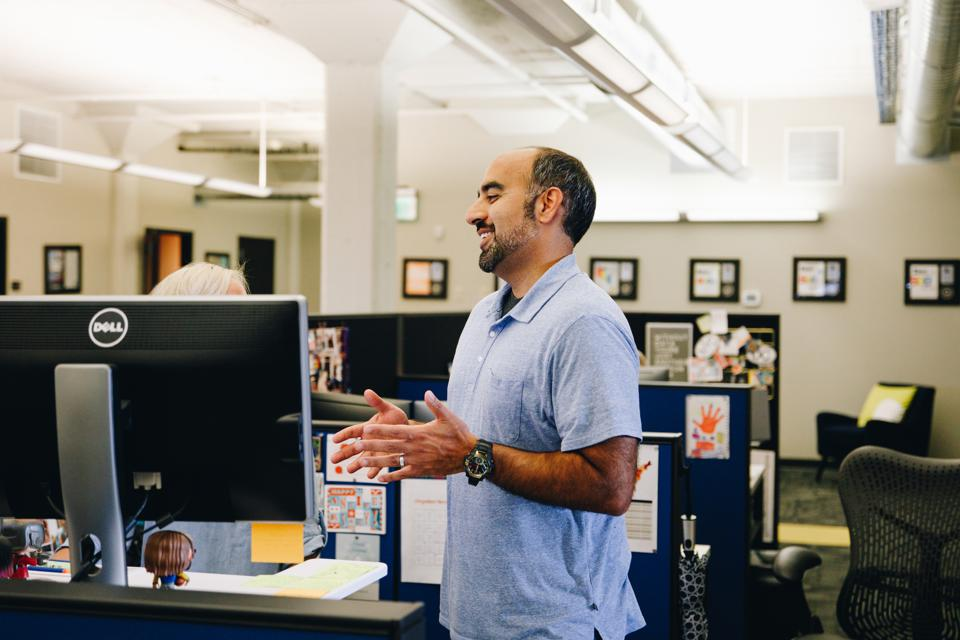 Behfar Jahanshahi at his Oklahoma office