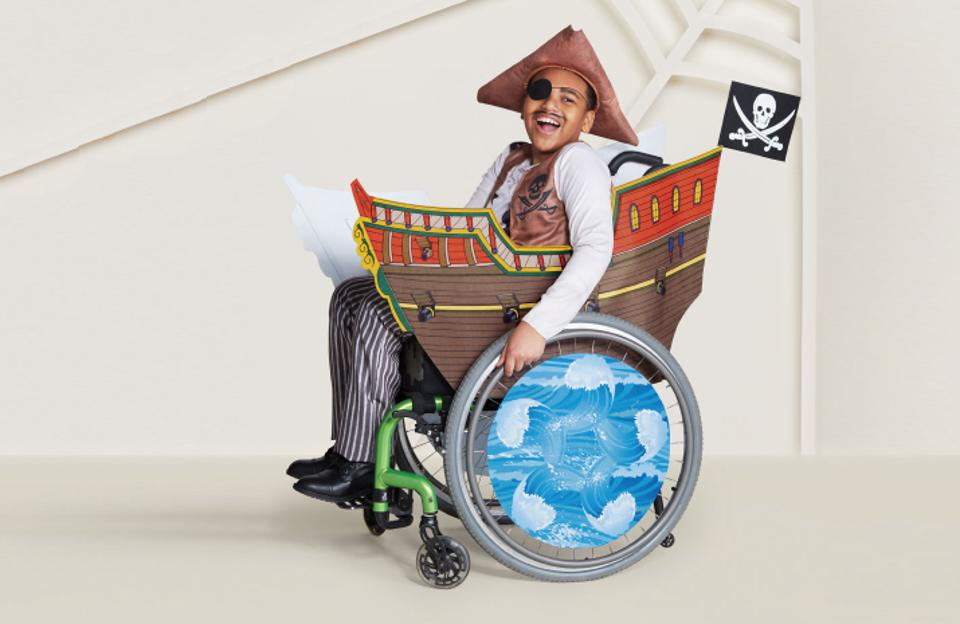 Target now offers Halloween costumes for children with special needs.