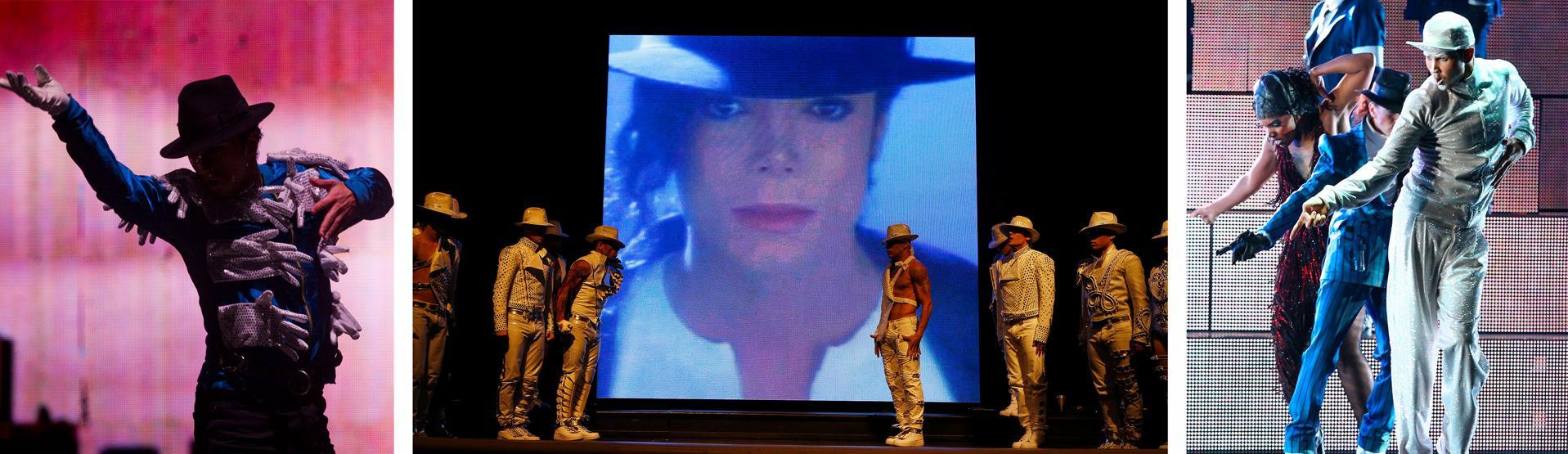 Cirque du Solei presents it's show Michael Jackson Immortal World Tour
