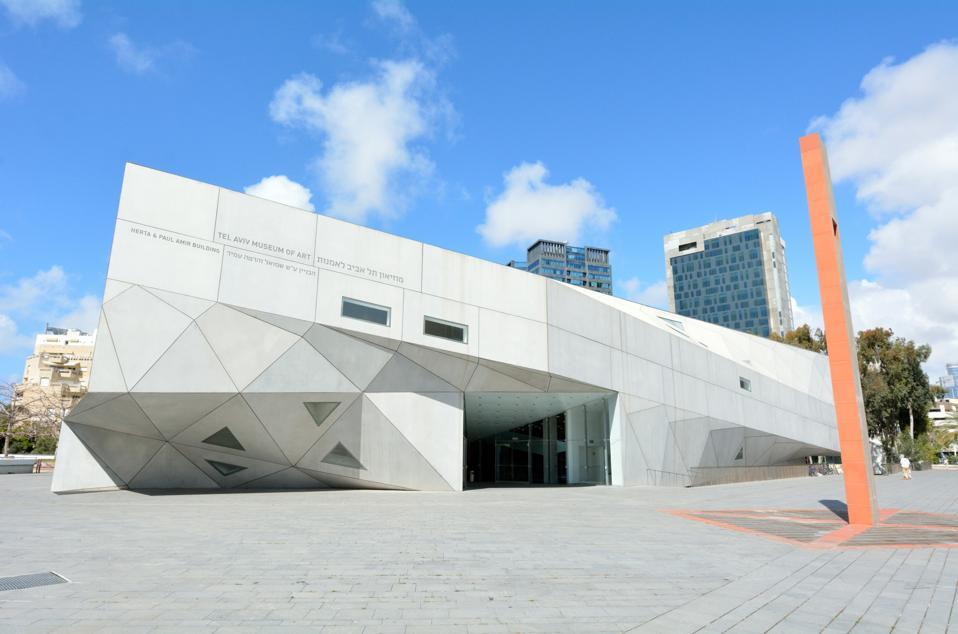 Tel Aviv Museum of Art in Tel Aviv - Israel