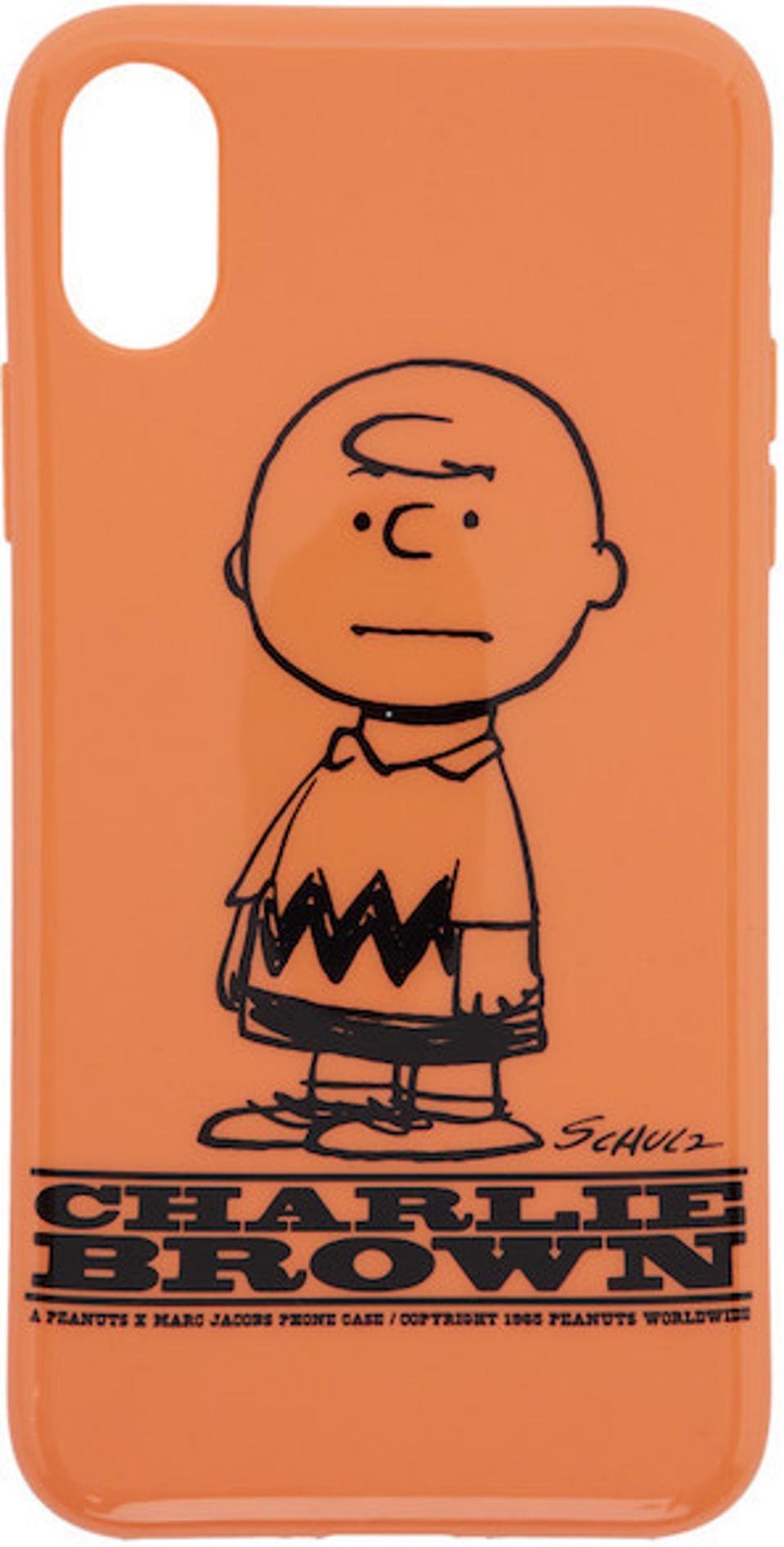 Marc Jacobs Orange Peanuts iPhone XS Case