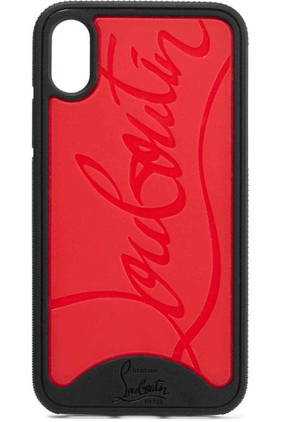 Christian Louboutin Loubiphone Embossed iPhone X/XS Case
