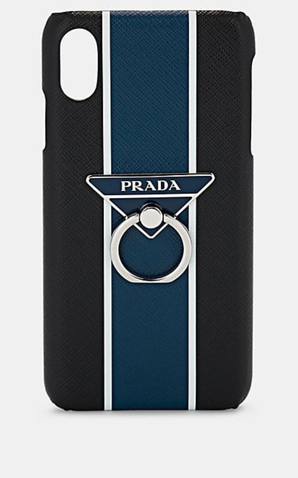 Prada Saffiano Leather iPhone X Case