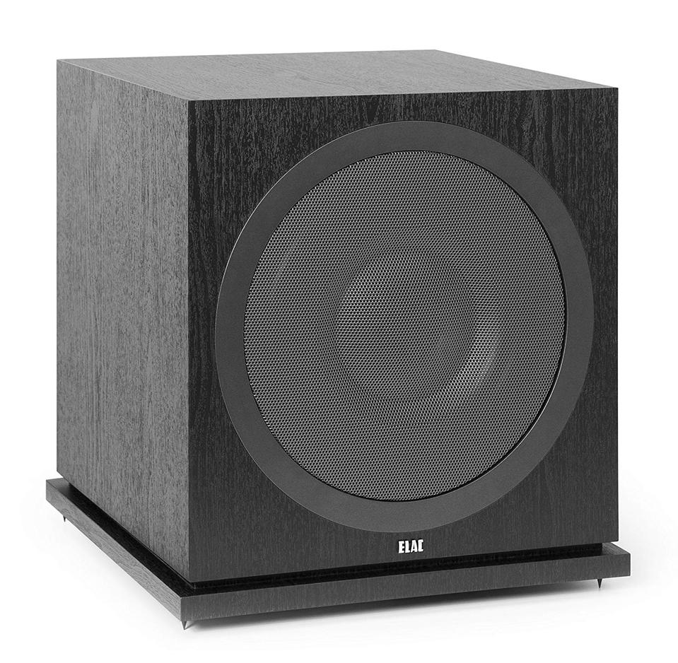 The Elac Debut 2.0 SUB3030 will bring your movies or music to life with 1,000 watts of power.