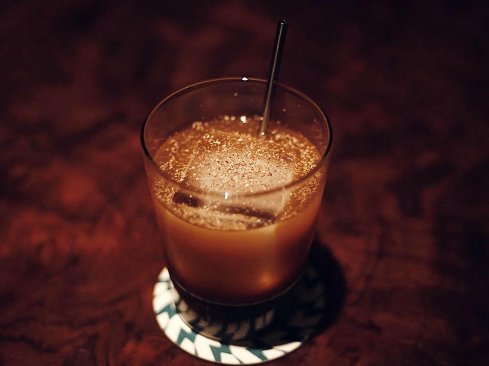 Punch cocktail at Midnight Rambler.