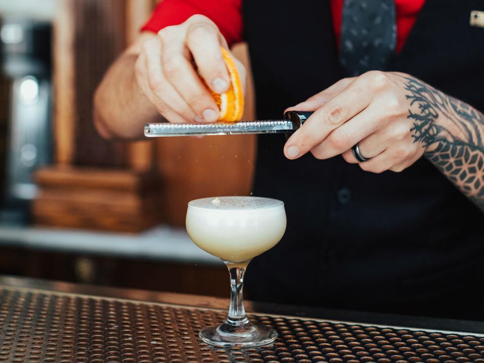 Evil Genius cocktail at Polite Provisions