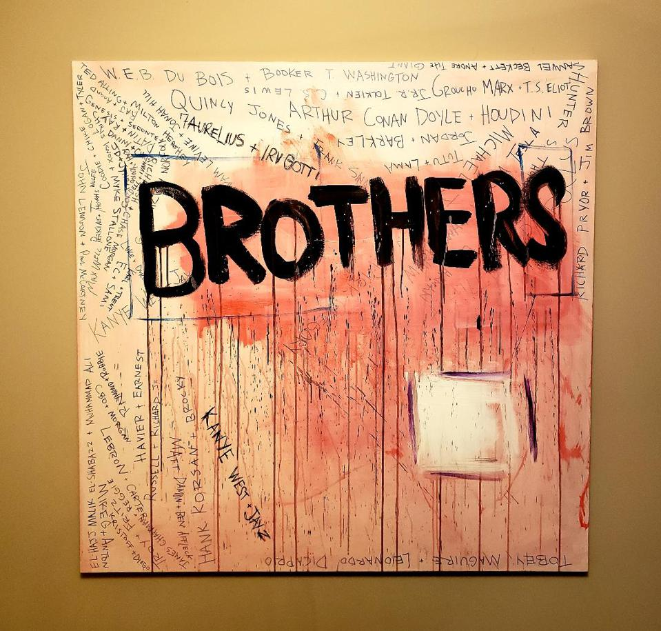 Art for the 7 Aurelius, Irv Gotti, Kanye West song, ″Brothers.″