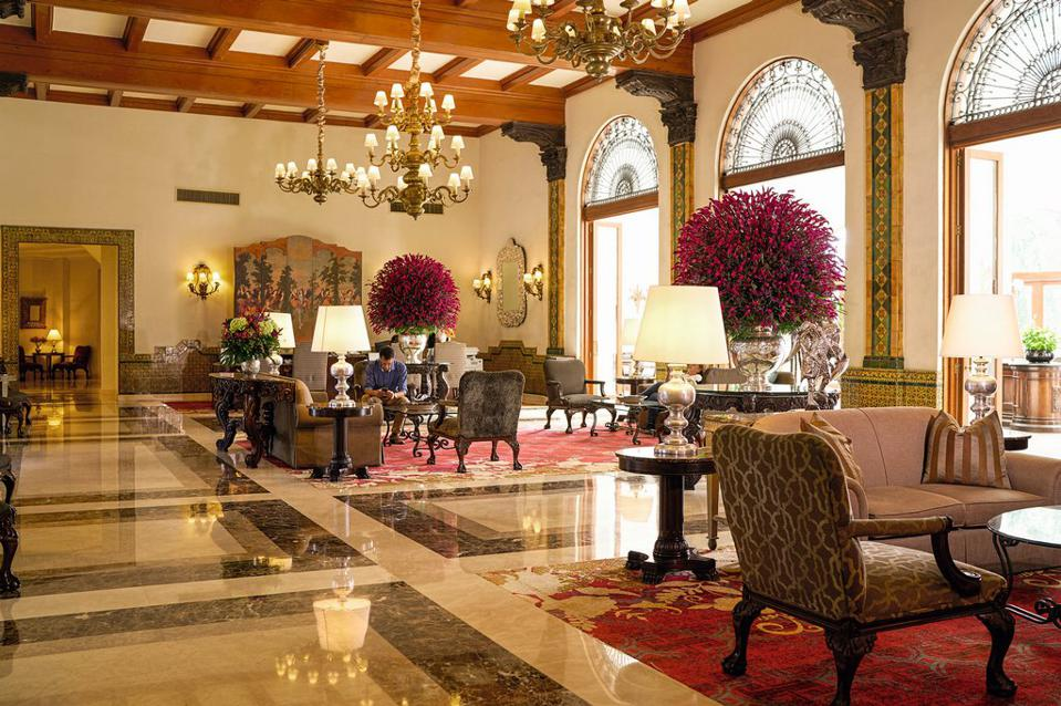 lobby at Country Club Lima Hotel