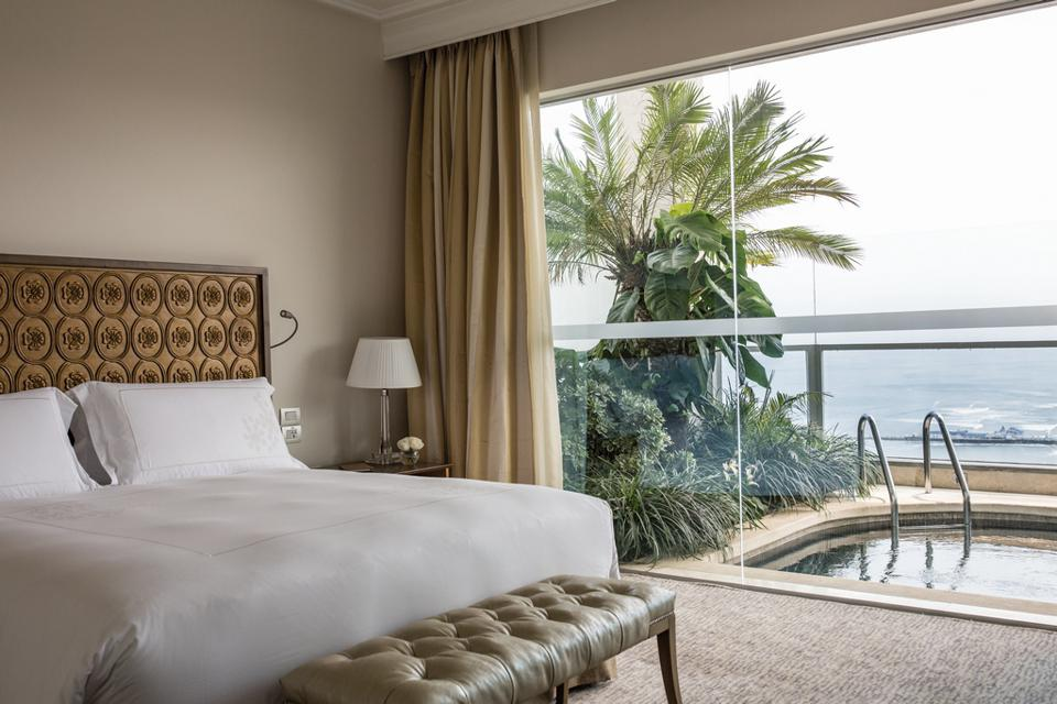 Presidential room with private plunge pool