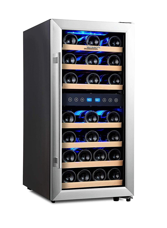 Phiestina Dual Zone veinijahuti külmik