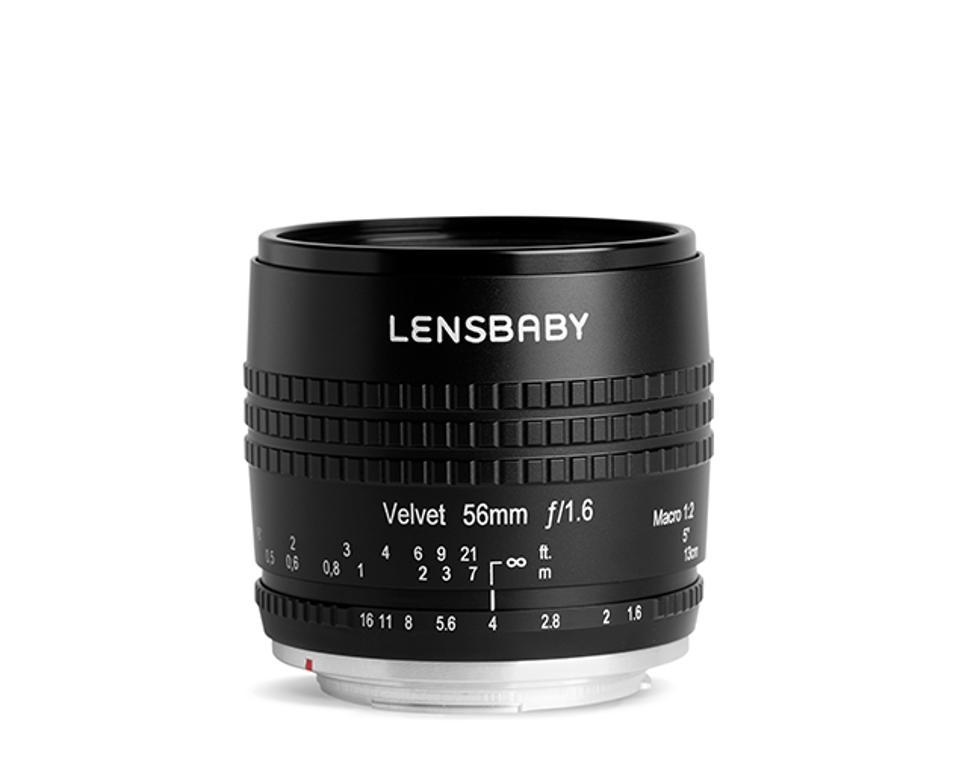 Lensbaby Velvet 56 56mm f/1.6 lens