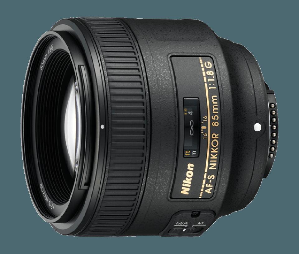 Nikon AF-S 85mm lens
