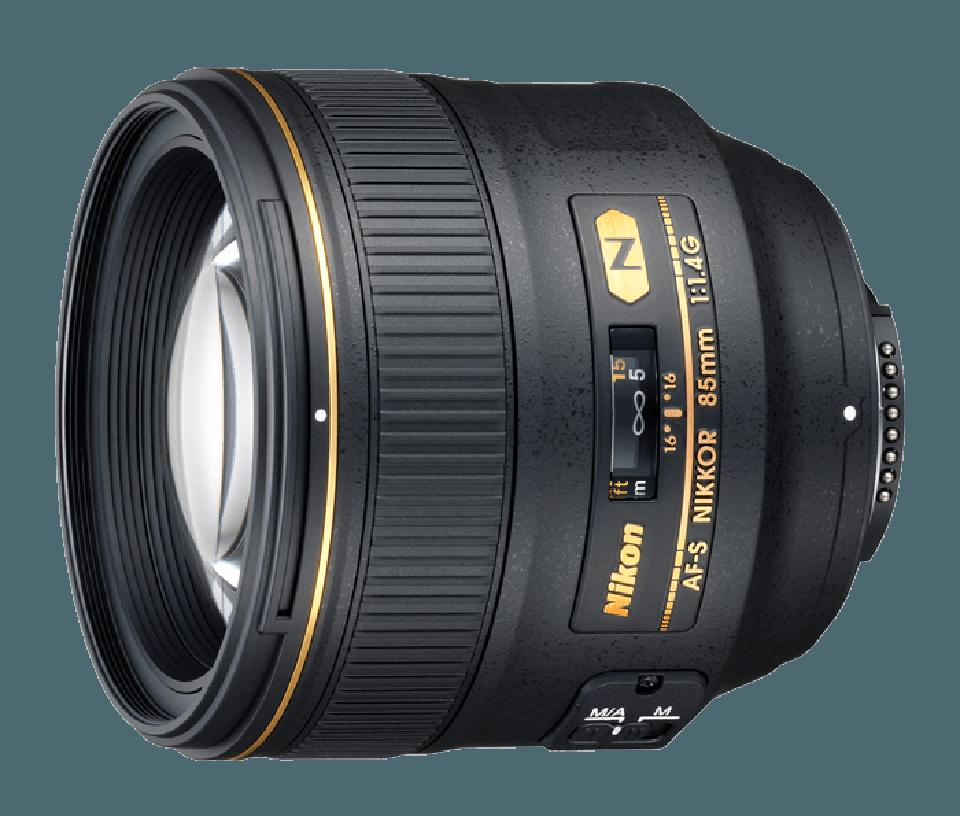 Nikon Nikkor AF-S 85mm f/1.4 lens