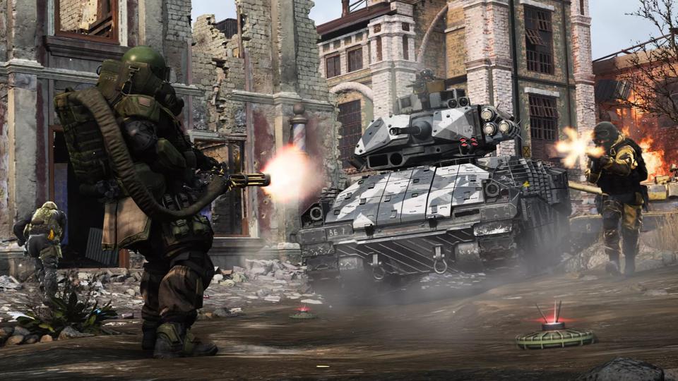 Ground War' Is Call Of Duty: Modern Warfare's Answer To