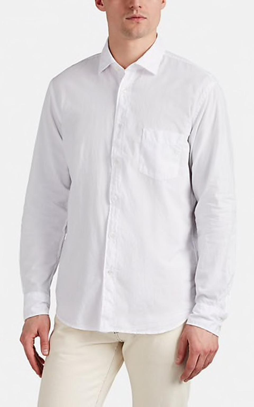 Hartford Cotton Voile Shirt