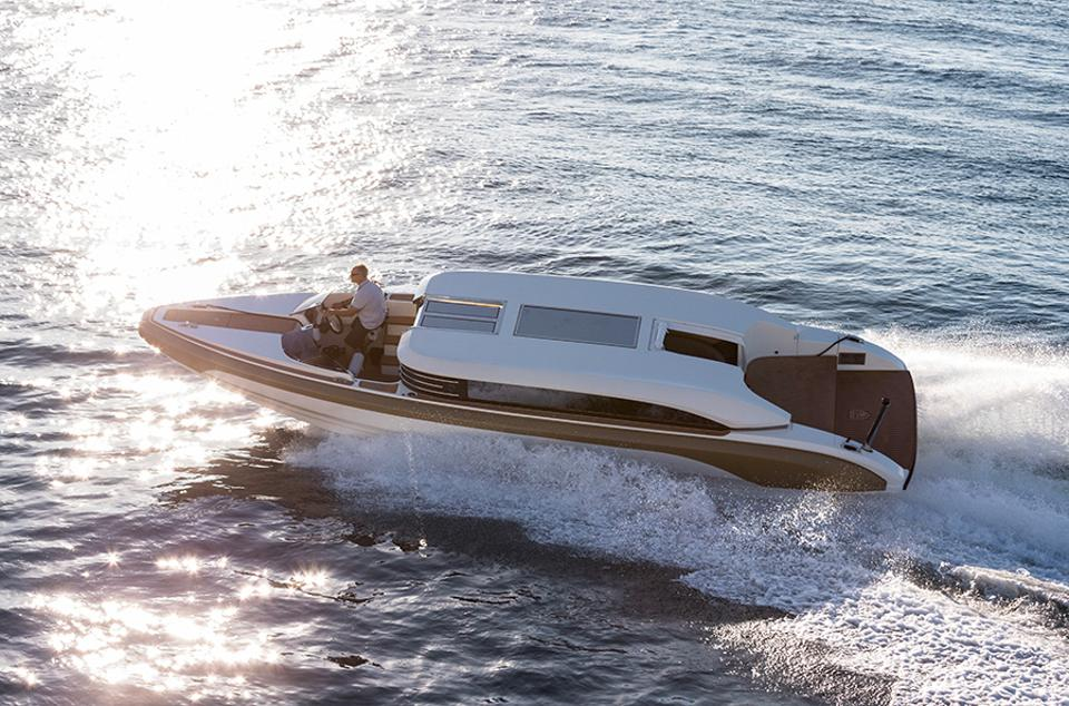 Is your yacht tender a cross between a limo and a Ferrari?