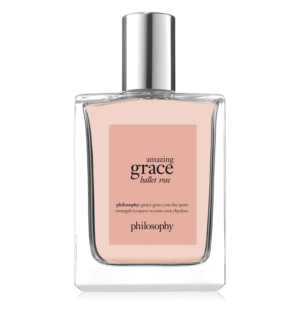 A rose-infused take on the Amazing Grace fragrance lineup by Philosophy