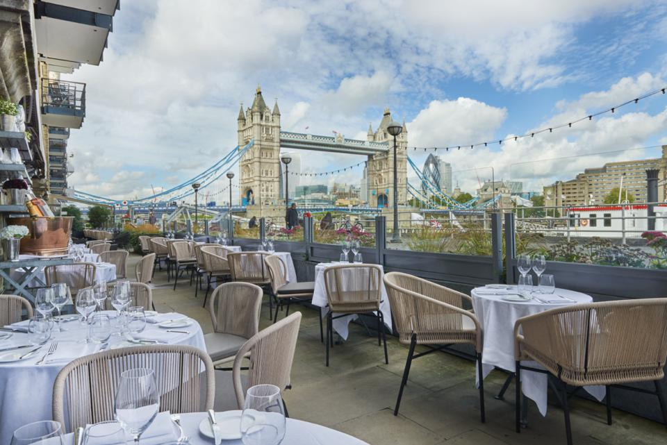 London's Best Outdoor Restaurants