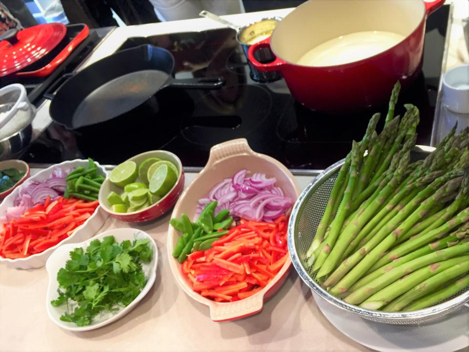 Induction Cooking Prep