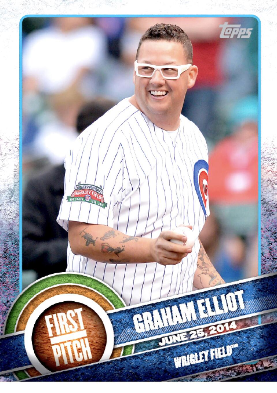 Chef Graham Elliots Search For Ultimate Baseball Card Collection Is