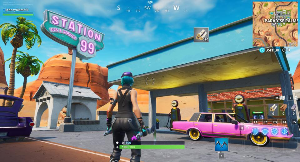 Fortnite Gas Station Locations Where To Spray Different