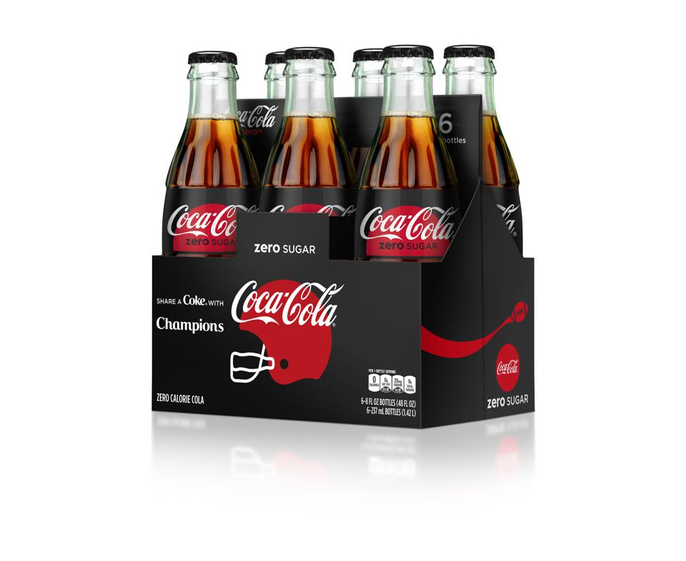 Coca-Cola Unveils New NFL And College Football Packaging
