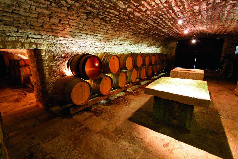Domaine Laroche Cellar