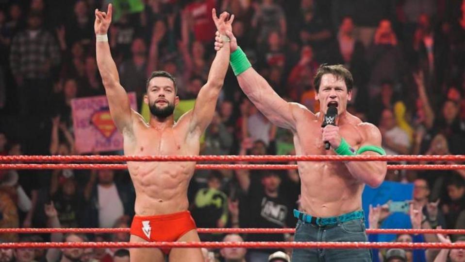 Finn Balor and John Cena