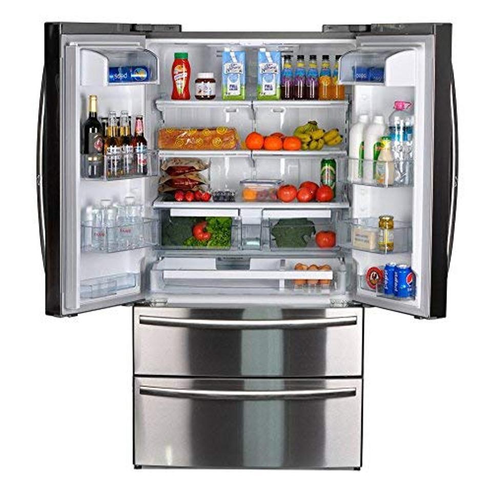 SMETA Counter Depth French Door Refrigerator
