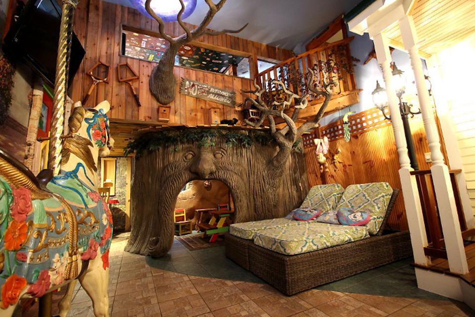 The Treehouse Suite in NH