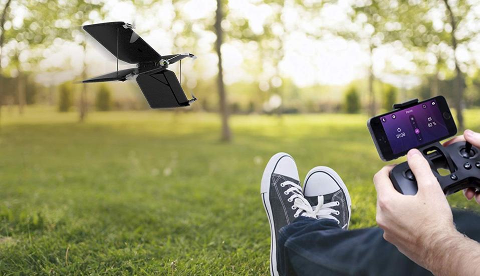 Quadcopter za papige Swing in letalo Minidrone.