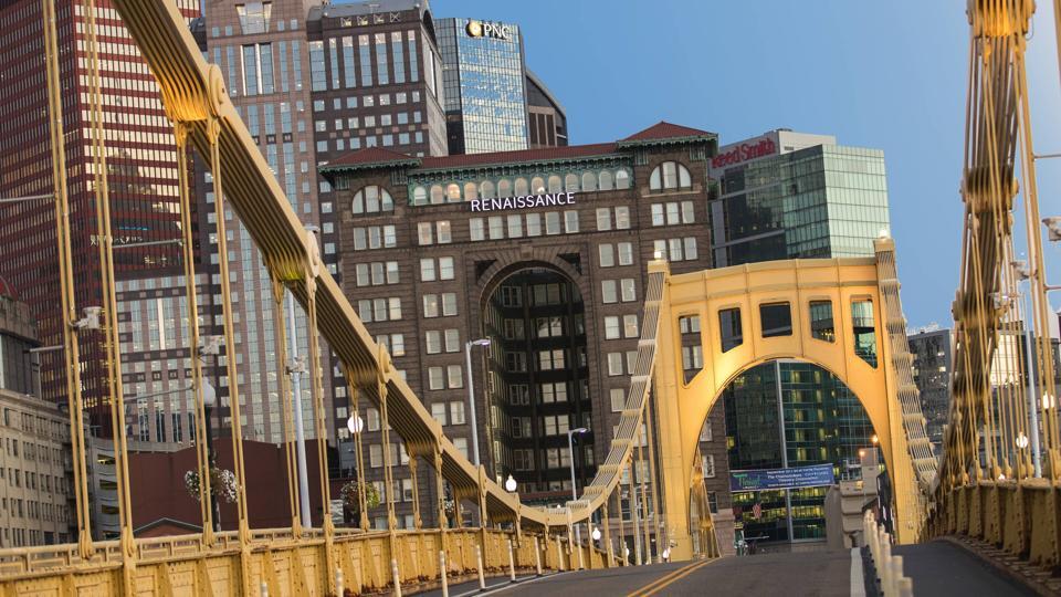 Renaissance Pittsburgh Hotel Exterior.