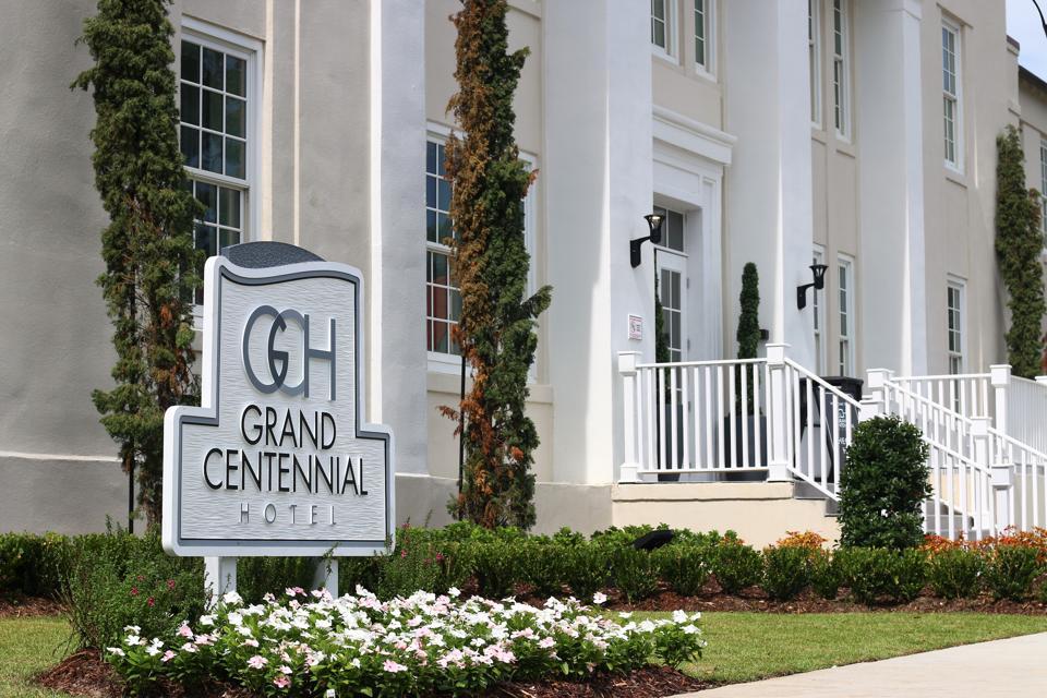 Former Veterans Administration Medical Center in Gulfport, Mississippi