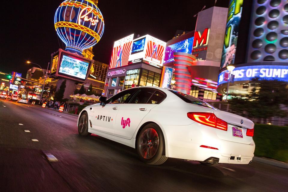 Las Vegas autonomous test fleet