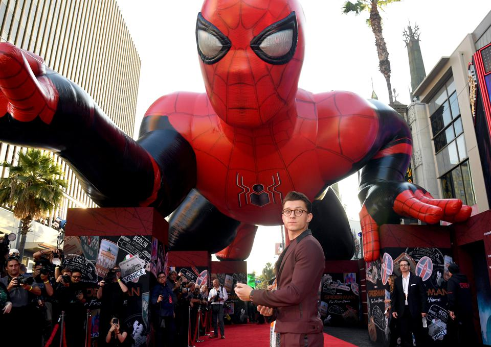 Premiere Of Sony Pictures' ″Spider-Man Far From Home″  - Red Carpet
