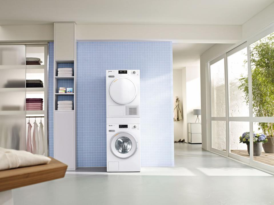 washer and dryer set for travel closet
