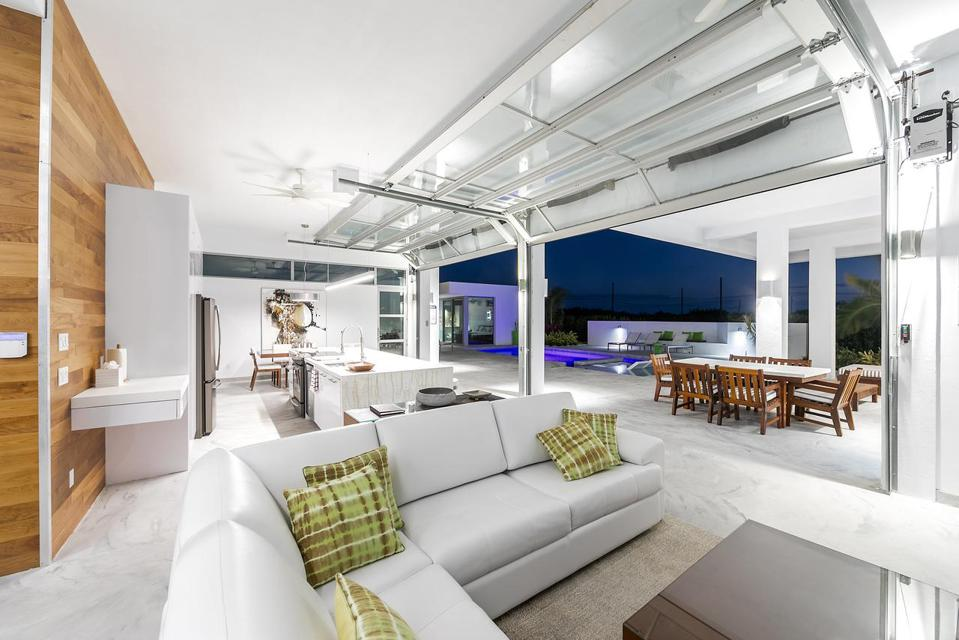 The living room of White Villa #1