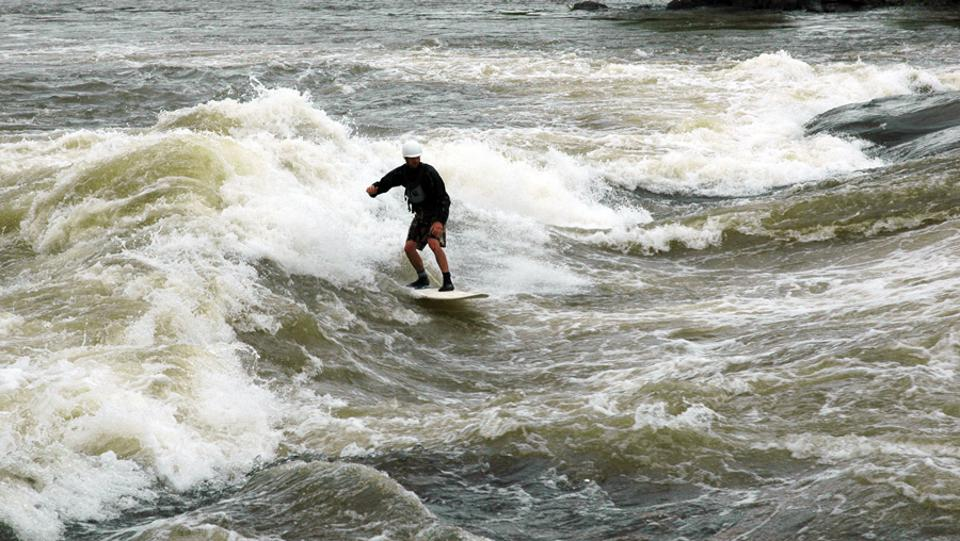 Columbus. Chattahoochee River. Surfing. Wave Shaper Island. Whitewater.